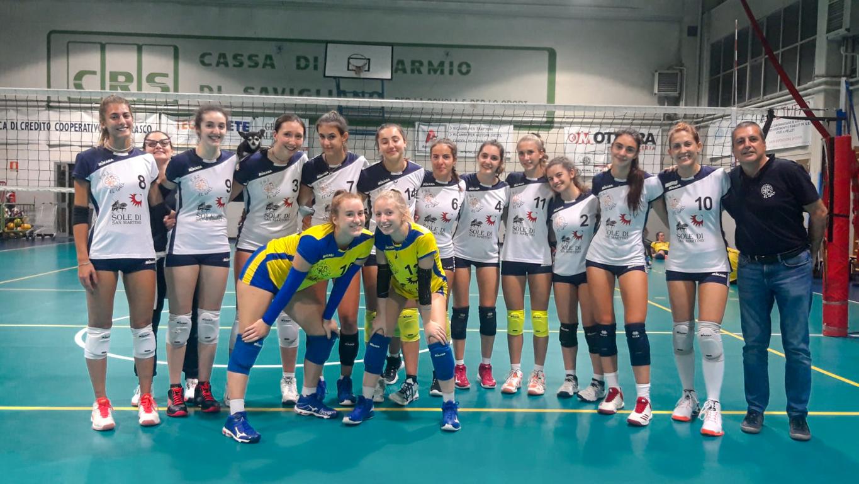 Coppa Piemonte: Vittoria per le ragazze del Sole contro il Marene