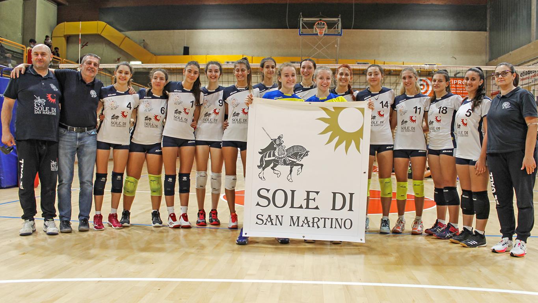 Coppa Piemonte: stra-coppa per il Sole che vince 3-0 contro il Cherasco